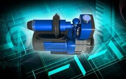 Pressure pump Stock Photography