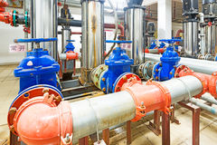 Pressure pump for running water Royalty Free Stock Photos