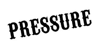 Pressure rubber stamp Stock Photos