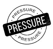 Pressure rubber stamp Stock Photography