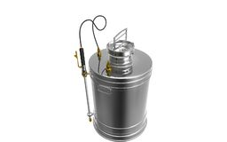 Pressure sprayer. Digital illustration of  a Pressure sprayer Stock Photos