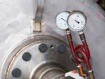 Pressure testing Stock Image