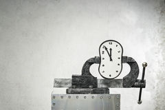 Pressure on a time Royalty Free Stock Photos
