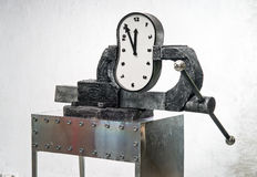 Pressure on a time Stock Images