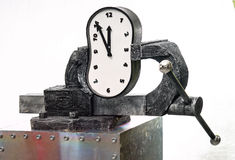 Pressure on a time Royalty Free Stock Images