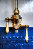Pressure valve and levers Royalty Free Stock Photo
