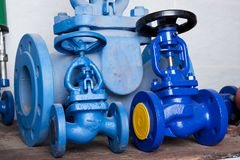 Pressure valves Royalty Free Stock Photo