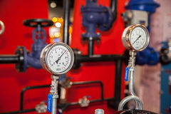Pressure valves Stock Image