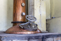 Pressure vessel of caldron Royalty Free Stock Photo