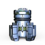 Pressure vessel. 3D CG rendering of a pressure vessel Royalty Free Stock Photos