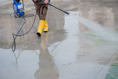 Pressure washer Stock Photo