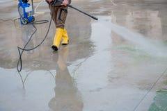 Pressure washer Stock Photo