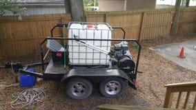 Pressure washing equipment Royalty Free Stock Photo