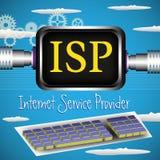 Prestador de serviços do Internet Fotografia de Stock Royalty Free