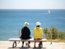 Prestando atenção ao mar Foto de Stock