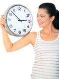 Prestare attenzione all'orologio Fotografia Stock