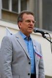 Prestaties van stadsburgemeester Royalty-vrije Stock Fotografie