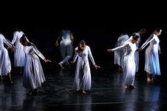 Prestazione 3 di ballo moderno Immagine Stock