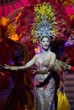 Prestazione dei transsessuali all'esposizione di Tiffany Fotografia Stock Libera da Diritti