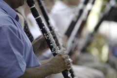 Prestazione dell'orchestra sinfonica Fotografie Stock Libere da Diritti