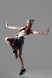 Prestazione della ragazza del ballerino Fotografia Stock Libera da Diritti