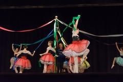 Prestazione di balletto del lago swan in Tupelo, ms immagine stock libera da diritti