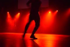 Prestazione di ballo Fotografia Stock