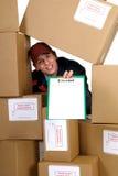 Prestazione di servizi postale Fotografie Stock