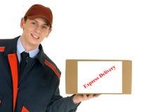 Prestazione di servizi postale Fotografie Stock Libere da Diritti