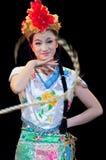 Prestazioni di ballo di opera della Cina, Pechino Fotografie Stock