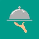 Preste serviços de manutenção à ilustração do ícone do vetor do conceito Imagens de Stock Royalty Free