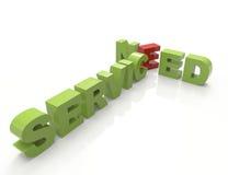 Preste serviços de manutenção à necessidade Fotografia de Stock Royalty Free