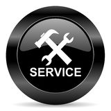 Preste serviços de manutenção ao ícone Foto de Stock Royalty Free