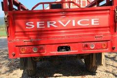 Preste serviços de manutenção ao carro foto de stock