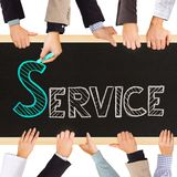 Preste serviços de manutenção ao conceito Imagem de Stock Royalty Free