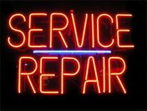 Preste serviços de manutenção ao reparo imagens de stock
