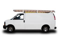 Preste serviços de manutenção ao reparo Van Fotografia de Stock Royalty Free