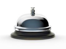 Preste serviços de manutenção a Bell no fundo branco Imagens de Stock Royalty Free