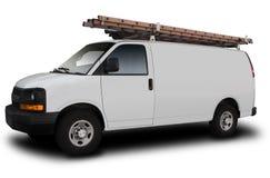 Preste serviços de manutenção a Van Fotografia de Stock Royalty Free