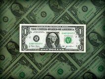 Prestige américain du dollar en position claire Image libre de droits