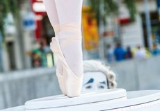 Prestige Eventi of the Italy presents Carillon show, inside of B-FIT in the street 2015 Stock Image