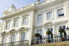 Prestige-London-Häuser Lizenzfreie Stockfotos