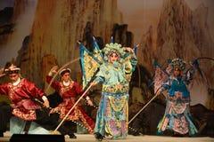 "The prestige of the vanguard- Beijing Opera"" Women Generals of Yang Family"" Royalty Free Stock Photography"