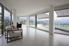 Prestigious penthouse, modern design Stock Image