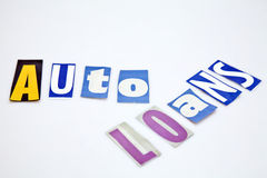 Prestiti automatici Fotografie Stock Libere da Diritti