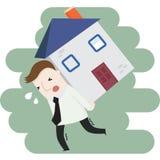 Prestiti di bene immobile Immagine Stock