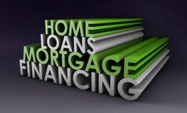 Prestiti immobiliari Fotografie Stock Libere da Diritti