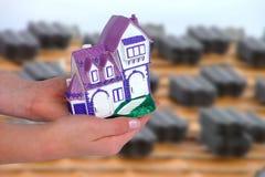 Prestiti immobiliari Fotografia Stock Libera da Diritti