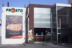 Presto Pizzeria σε Arequipa, Περού Στοκ εικόνα με δικαίωμα ελεύθερης χρήσης