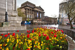 Preston centrum miasta Zdjęcia Royalty Free